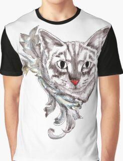 Posh Cat Graphic T-Shirt
