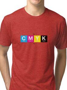 CMYK 10 Tri-blend T-Shirt