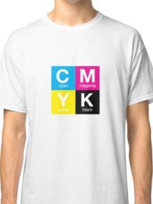 CMYK 11 Classic T-Shirt