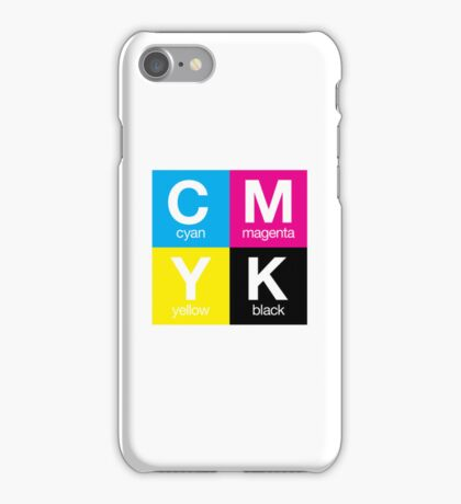 CMYK 11 iPhone Case/Skin