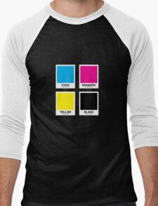 CMYK 12 Men's Baseball ¾ T-Shirt