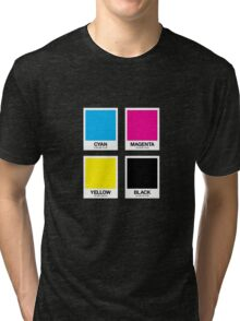 CMYK 12 Tri-blend T-Shirt