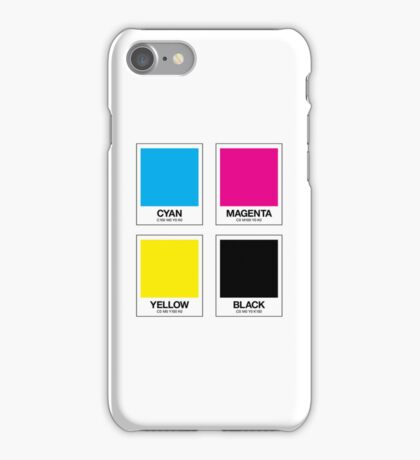 CMYK 12 iPhone Case/Skin