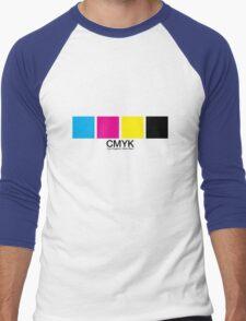 CMYK 15 Men's Baseball ¾ T-Shirt
