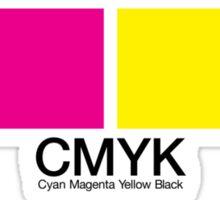 CMYK 15 Sticker