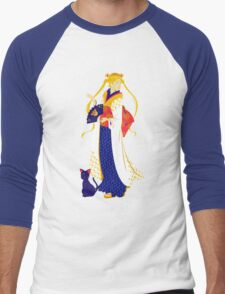 Sailor Moon Geisha Men's Baseball ¾ T-Shirt