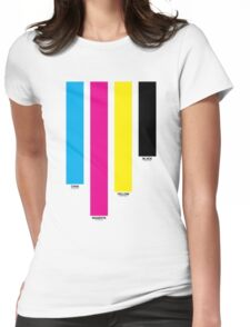 CMYK 16 Womens Fitted T-Shirt
