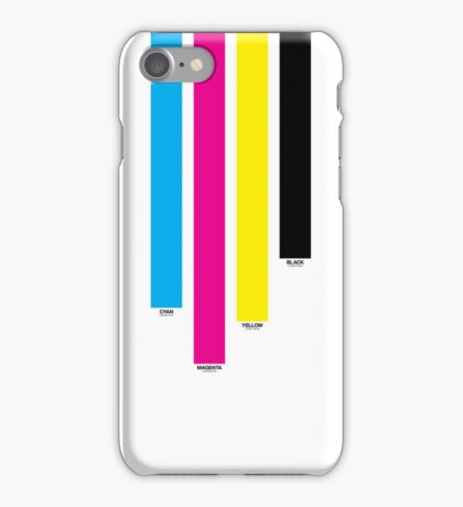 CMYK 16 iPhone Case/Skin