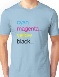 CMYK 17 Unisex T-Shirt