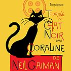 Chat Noir du Coraline by mjcowan
