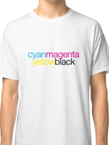 CMYK 18 Classic T-Shirt