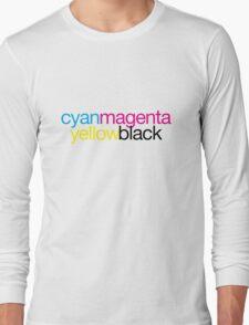 CMYK 18 Long Sleeve T-Shirt