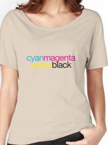 CMYK 18 Women's Relaxed Fit T-Shirt