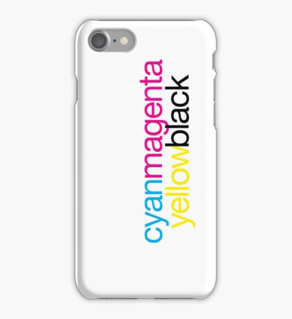 CMYK 18 iPhone Case/Skin