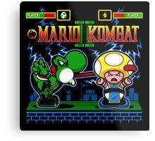 Mario Kombat II Metal Print