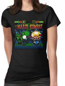 Mario Kombat II Womens Fitted T-Shirt