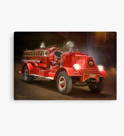 Old Number Three Canvas Print
