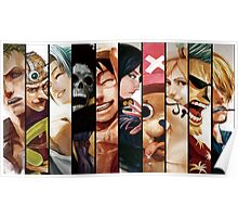 Monkey D. Luffy Pirates Poster