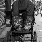 Rickshaw boy at rest by John Callaway