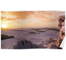 Hathersage Moor Sunrise Poster