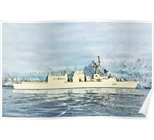 HMCS Fredericton by Shawna Mac Poster