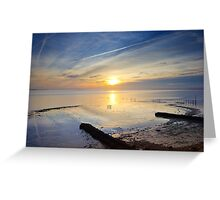 Severn Foreshore Greeting Card
