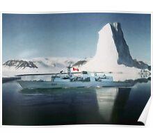 HMCS Fredericton V2 by Shawna Mac Poster