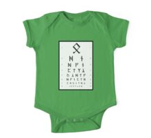 Bilbo's Eye Appointment One Piece - Short Sleeve