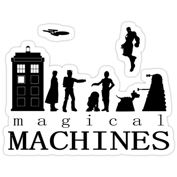 Magical Machines by Yukinflake