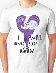 Never Sleeping MLP Unisex T-Shirt