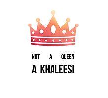 Queen Daenerys by sophiestormborn