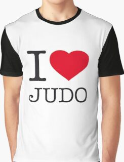 I ♥ JUDO Graphic T-Shirt