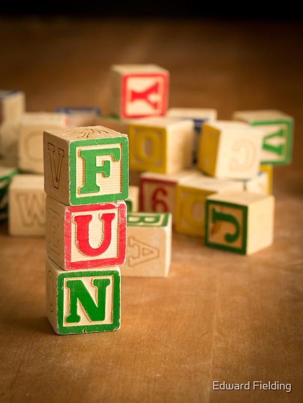 FUN - Alphabet Blocks by Edward Fielding