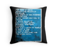 Fear and Loathing Minima Throw Pillow