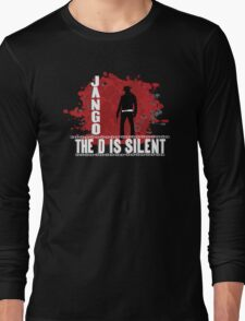 Jango the d is silent Long Sleeve T-Shirt