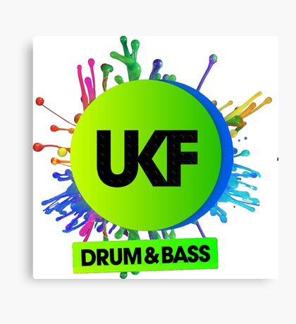 UKF-Drum And Bass Canvas Print