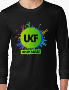 UKF-Drum And Bass Long Sleeve T-Shirt
