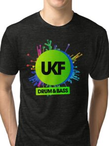 UKF-Drum And Bass Tri-blend T-Shirt