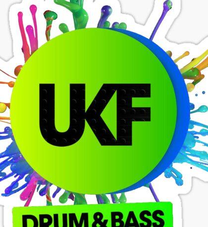 UKF-Drum And Bass Sticker