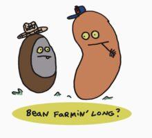 Bean Farmin' Long? (t-shirt, hoodie) Kids Clothes