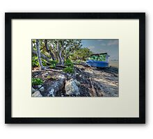 I'll be waiting for you to come back... Framed Print