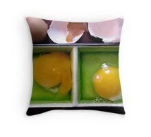 and now a little egg education . . . . Throw Pillow
