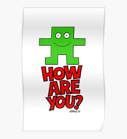 HOW ARE YOU? Poster