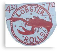Lobster Rolls - Martha's Vineyard Canvas Print