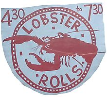 Lobster Rolls - Martha's Vineyard Photographic Print