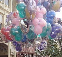 Disney Balloons by rose511