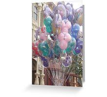 Disney Balloons Greeting Card