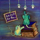 Reach for the STARS by Lisa Frances Judd ~ Original Australian Art