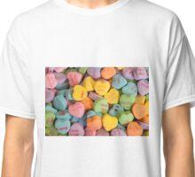 Valentine heart candies Classic T-Shirt