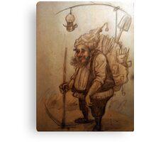 Dwarf sketch Canvas Print